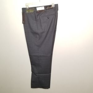 NWT Louise Raphael Luxe grey wool pants size 36x29
